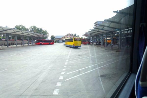 ブラスチラヴァ中央バスターミナル