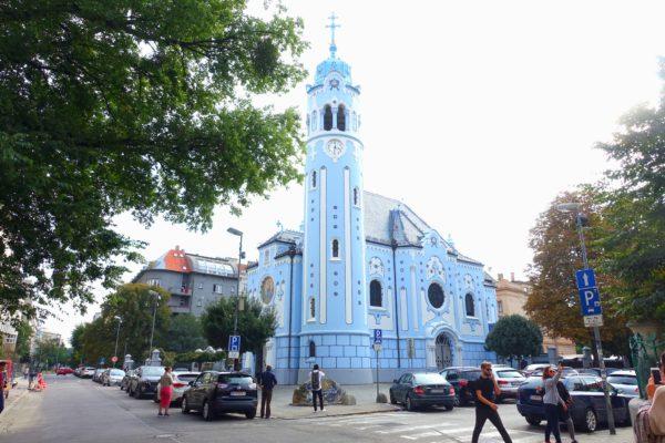 ブラスチラヴァの青の教会