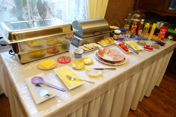 CenterCity Apartmentsの朝食