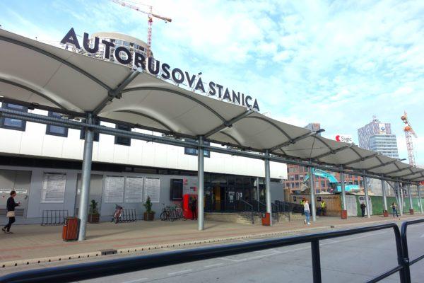 ブラチスラヴァ中央バスターミナル