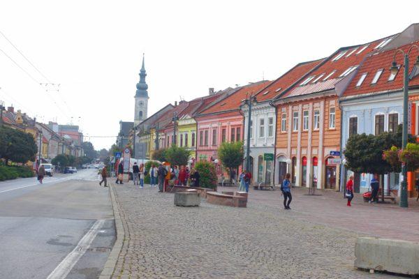 スロバキアのプレショフを観光