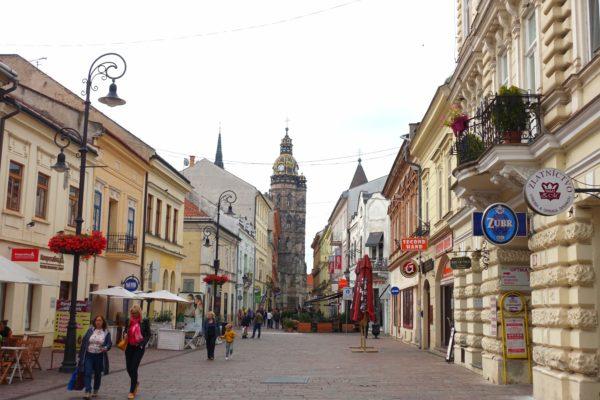 スロバキアのコシツェを観光