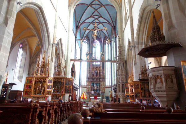 聖エギーディウス大聖堂の内部