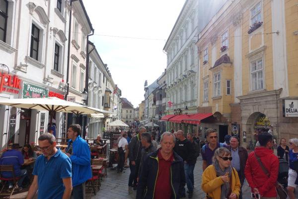スロバキアの中心街