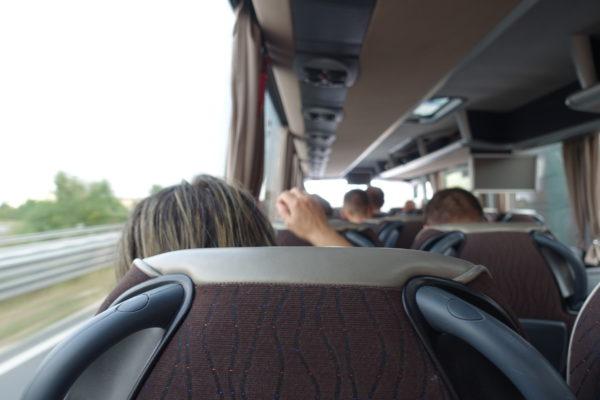 flixbusの車内