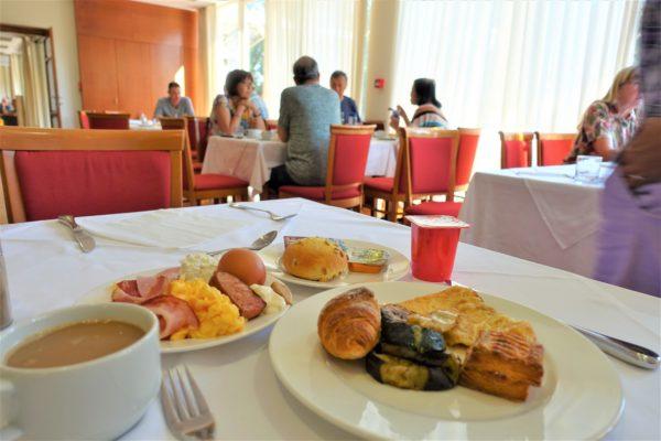 ドブロブニクのIVKA(イブカ)ホテルの朝食