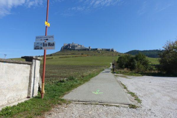 スピシュ城までの道のり