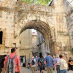 【クロアチア】ローマ遺跡が残るスプリットの旧市街を観光してきた!1700年前にタイムスリップ!