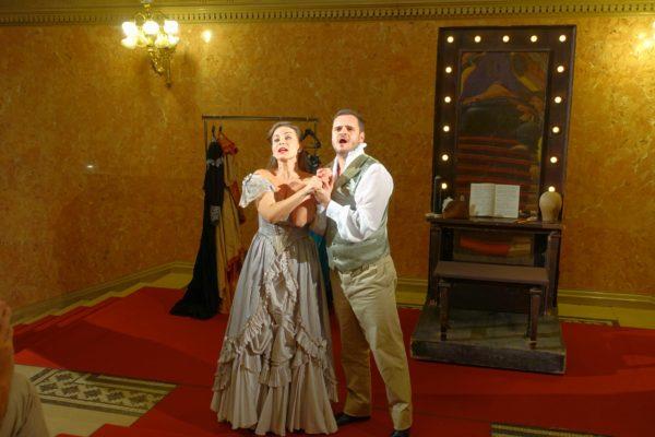 国立オペラ劇場の見学ツアーのミニオペラ