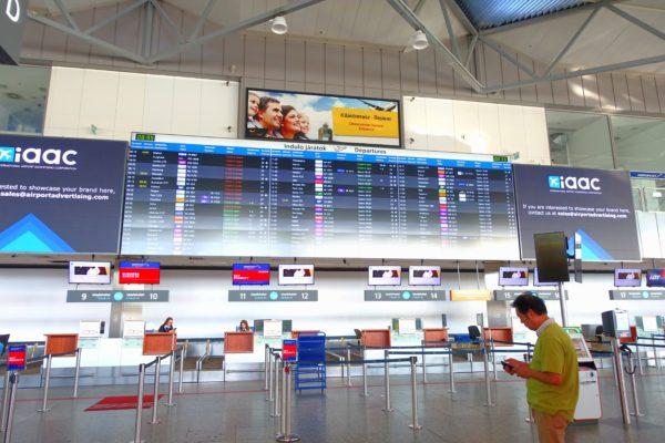ブダペスト空港(リスト・フェレンツ国際空港)