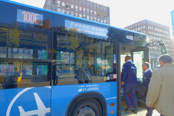 100Eエアポートシャトルバス