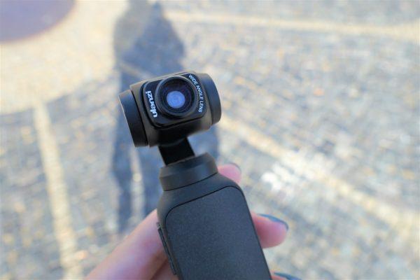 Ulanziの広角レンズをOsmo Pocketに装着