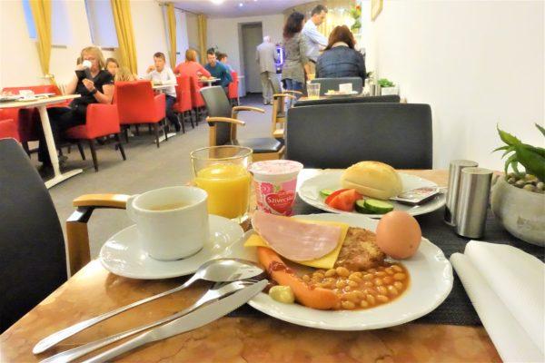 ブラチスラバのおすすめなホテル「エリザベスオールドタウン」の朝食