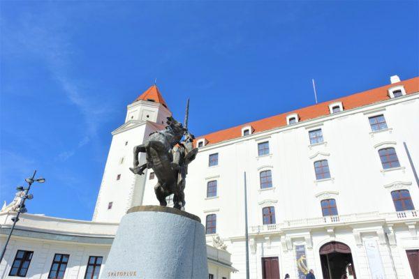 スロバキアのブラチスラバ城への行き方