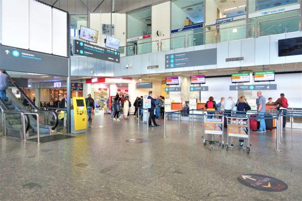 ブダペスト空港でお土産を購入した場所