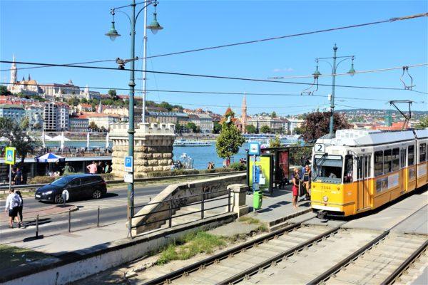 ブダペストの2番トラム