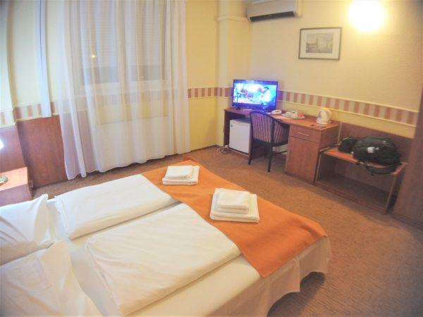 アトランティックホテルは広く清潔なお部屋