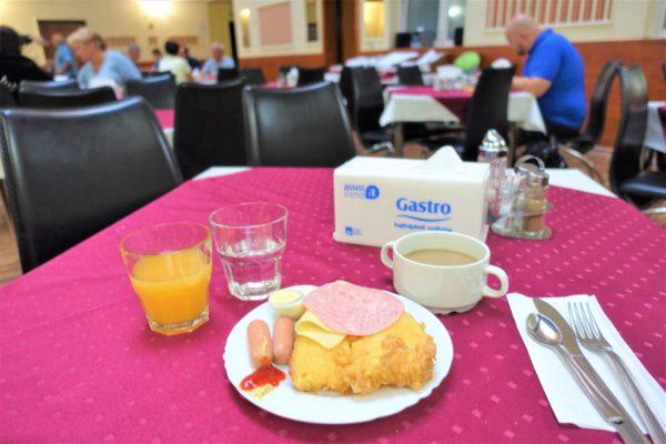 アトランティックホテルの朝食