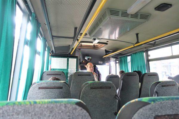 スロバキアでのバスの乗り方