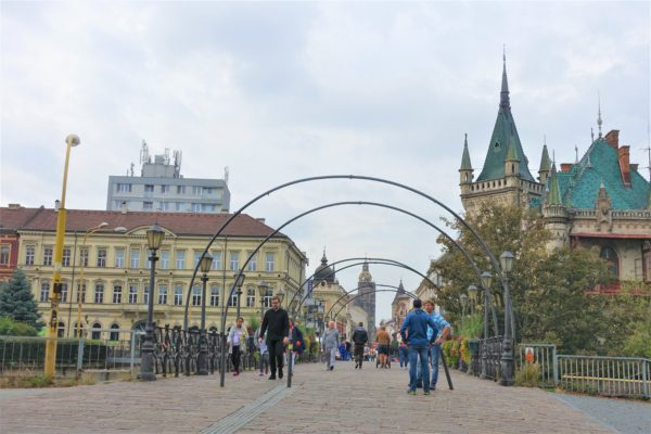 スロバキアのコシツェの街を観光する