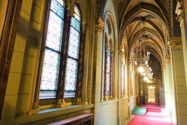 ブダペスト国会議事堂の内部