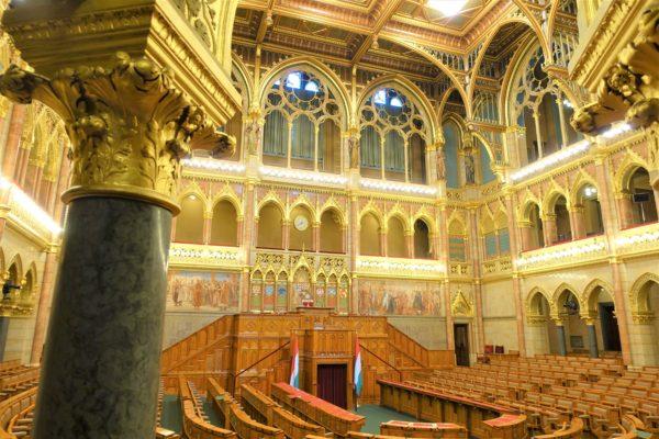 ブダペスト旧上院議会ホール(The Old Upper House Hall)