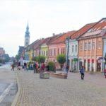 【スロバキア】プレショフの街を観光してみた!カラフルで可愛い街並みにゆったりとした時間が流れてた!
