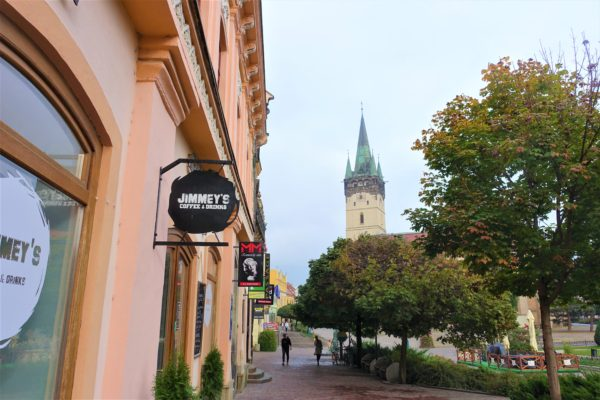 プレショフの旧市街を観光