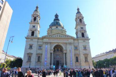 【ブダペスト】聖イシュトヴァーン大聖堂に行ってきた!豪華絢爛な内部!