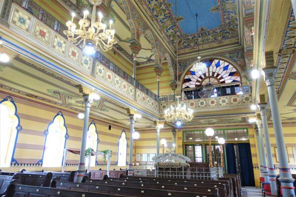 プレショフのシナゴーグの礼拝堂