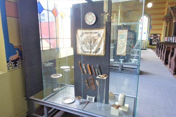 プレショフのシナゴーグの展示室