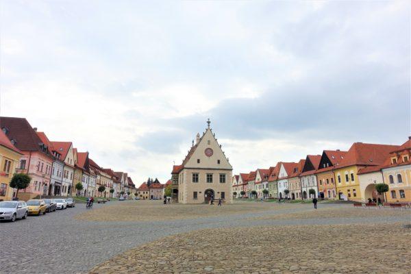 バルデヨフの旧市街を観光