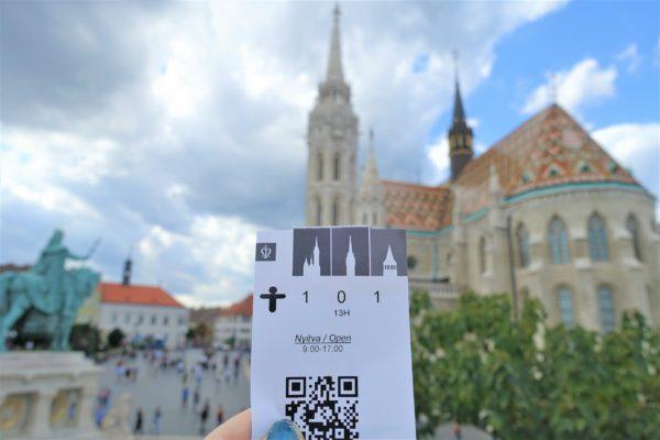 マーチャーシュ教会とチケット