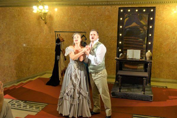 ブダペストの国立歌劇場の見学ツアーのミニオペラ