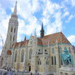 ブダペストのマーチャーシュ教会は外も中もカラフルで美しかった!