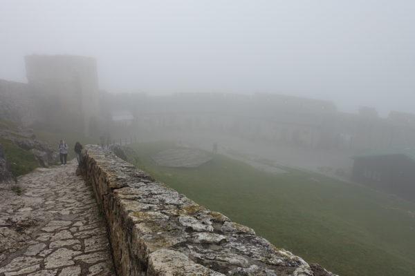 スピシュ城内部を見学