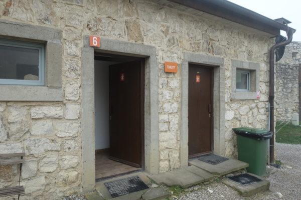 スピシュ城のトイレは無料で使える