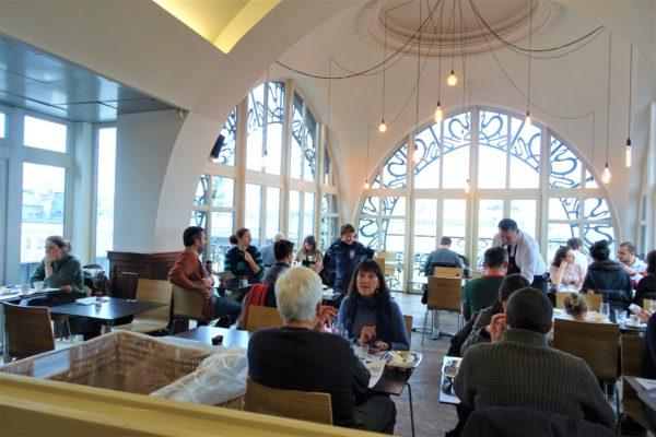 ブリュッセルカードで行った楽器博物館(Musical Instruments Museum)のレストラン