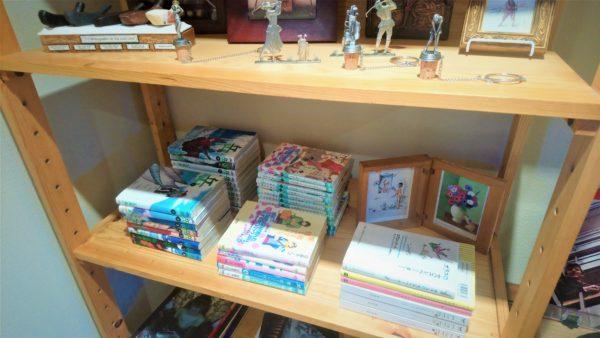 草津カフェのティールームゆきうさぎの本や漫画