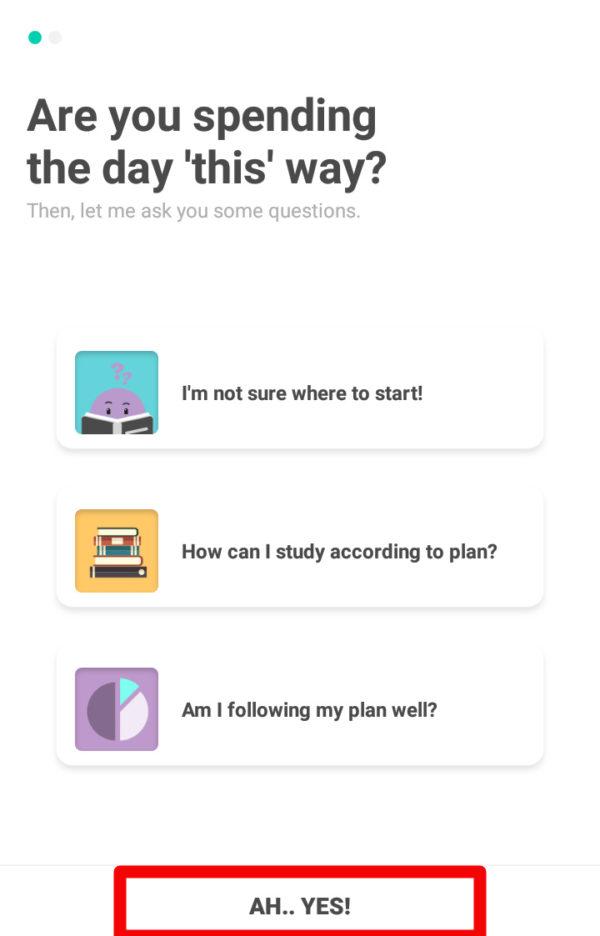 勉強アプリTodaitの新規登録方法