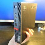 【レビュー】超コンパクトなデスクトップPC!ThinkCentre M75q-1 Tiny!楽天ポイントもゲットできるお得な購入方法とカスタマイズの仕方!