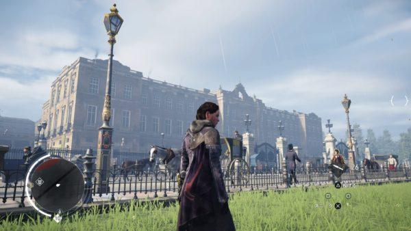 PS4アサシンクリード シンジケートのロンドン観光名所のバッキンガム宮殿のキャプチャー