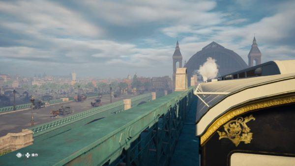 PS4アサシンクリードシンジケートで列車の隠れ家からロンドン版世界の車窓からを観れる