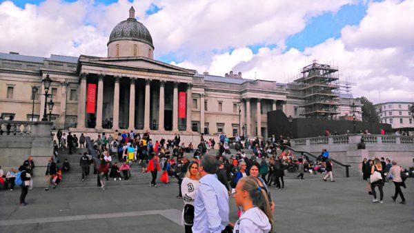 PS4アサシンクリード シンジケートのロンドン観光名所のナショナル・ギャラリーの現地写真
