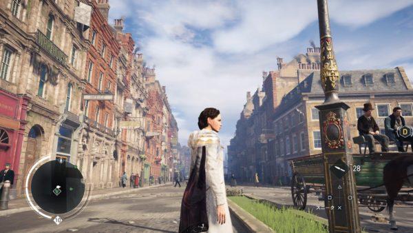 PS4アサシンクリード シンジケートのロンドンの街並み比較