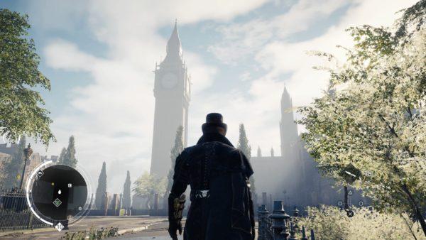 PS4アサシンクリード シンジケートのロンドン観光名所のビックベンのキャプチャー